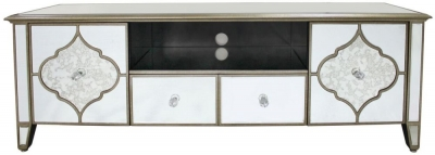 Morocco Mirrored Entertainment Unit