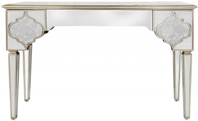 Morocco Mirrored 3 Drawer Console Table