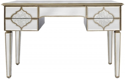 Morocco Mirrored 5 Drawer Console Table