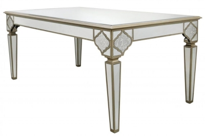 Morocco Mirrored Dining Table