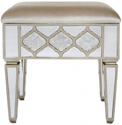 Morocco Mirrored Stool