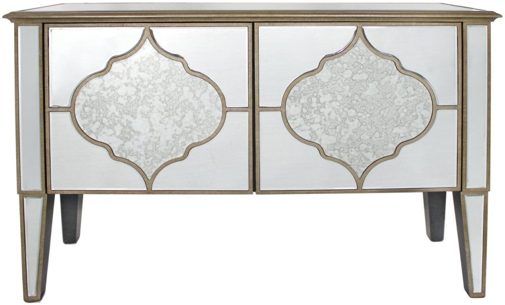 Morocco Mirrored 2 Door Cabinet