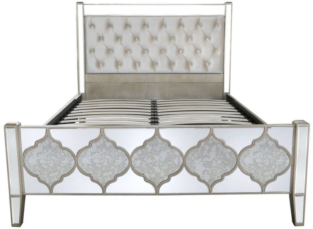 Morocco Mirrored 5ft Bed Frame