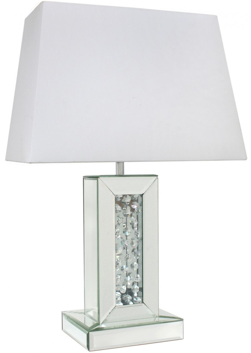 Alice Mirror Small Table Lamp With Rectangular 16inch