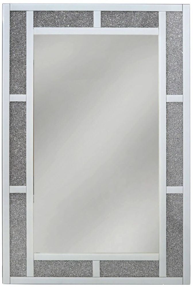 Rocca White Wall Mirror