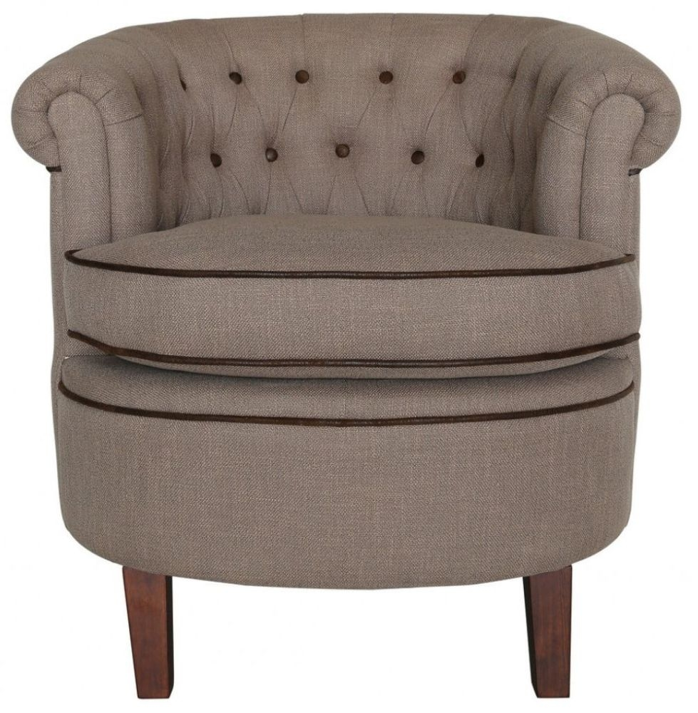 Coffee Carter Occasional Armchair