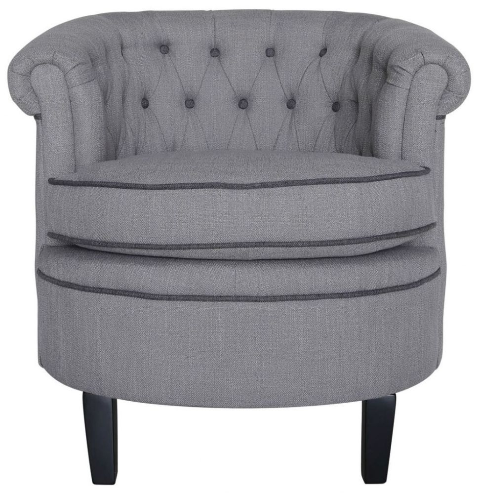 Grey Carter Occasional Armchair