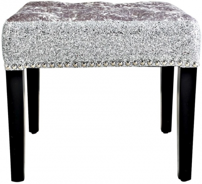Sylivia Crushed Velvet Stool