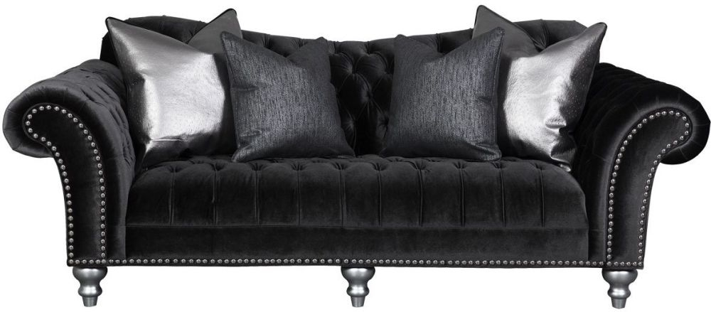 Guildford Charcoal Lorraine 3 Seater Sofa