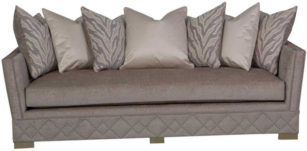 Guildford Light Taupe Jewel 3 Seater Sofa