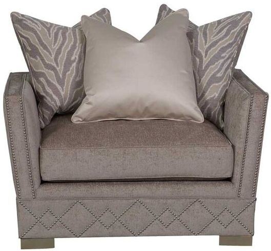 Guildford Jewel Light Taupe Fabric Chair