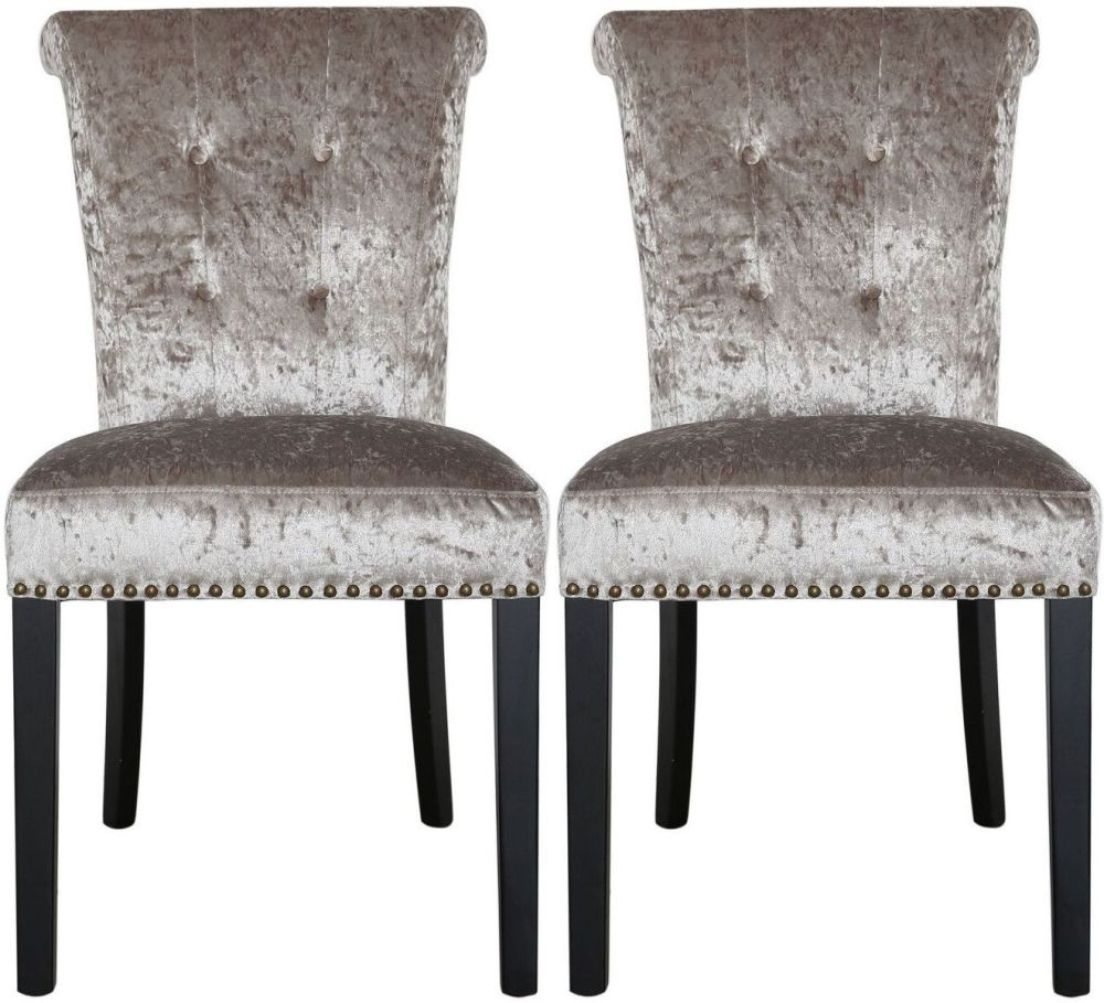 Hardy Champagne Dining Chair (Pair)
