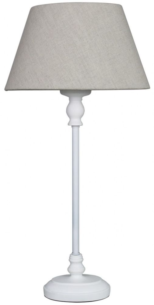 Endon lighting chloe handmade pencil pleat ivory lamp for 10 inch table lamps