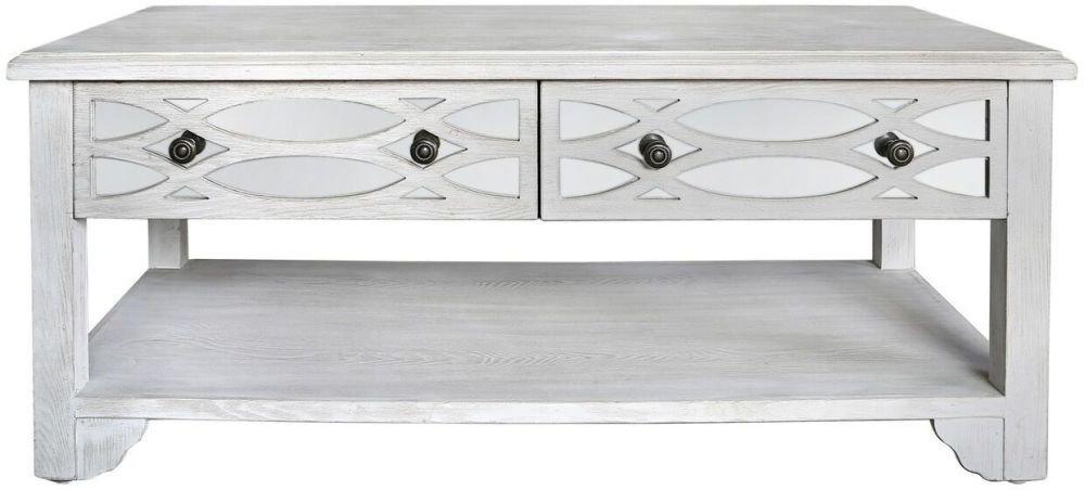 Valeria Washed Ash Storage Coffee Table