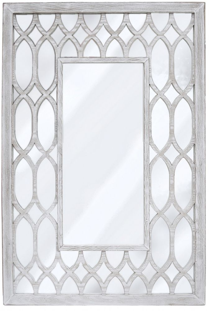 Valeria Washed Ash Wall Mirror