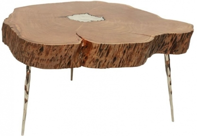 Valley Acacia Wood Large Coffee Table