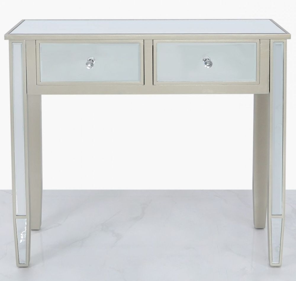 Wengen Dark Champagne Console Table