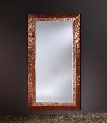 Deknudt Groove Copper Wall Mirror