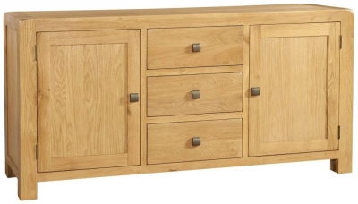 Avon Oak 2 Door Large Sideboard