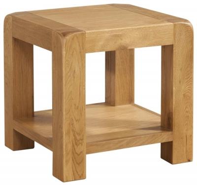 Avon Oak Lamp Table