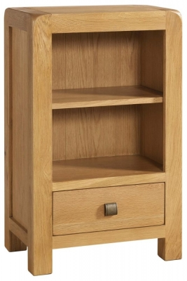 Avon Oak Low Bookcase