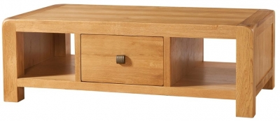 Devonshire Avon Oak Coffee Table - 1 Drawer