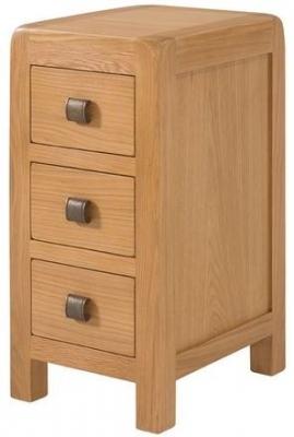 Devonshire Avon Oak Compact Bedside Cabinet