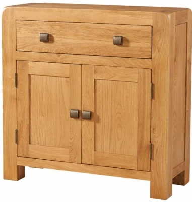 Devonshire Avon Oak Compact Sideboard - 2 Door 1 Drawer