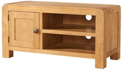 Devonshire Avon Oak TV Unit - Standard