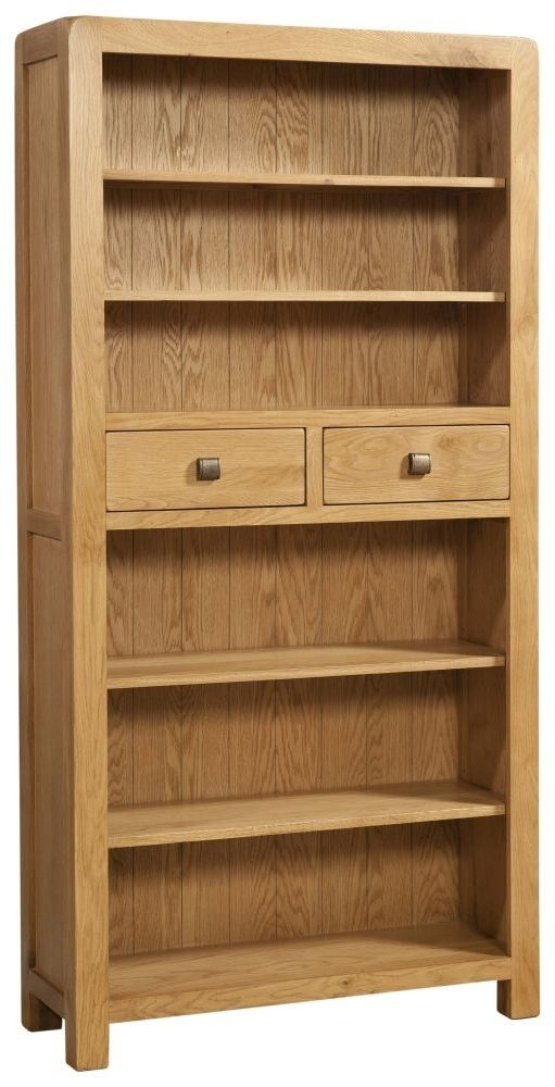Avon Oak Tall Bookcase