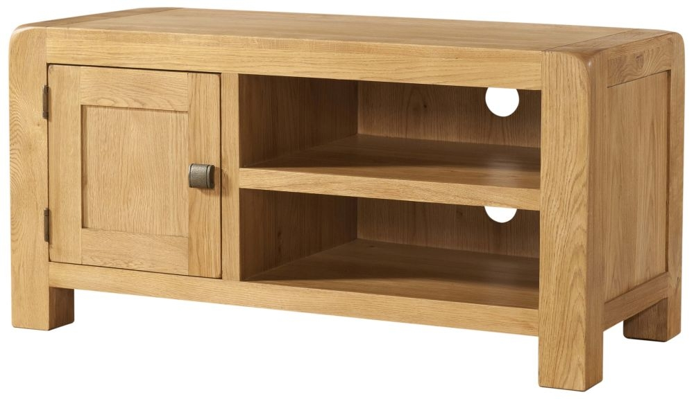 Devonshire Avon Oak 1 Door Standard TV Unit