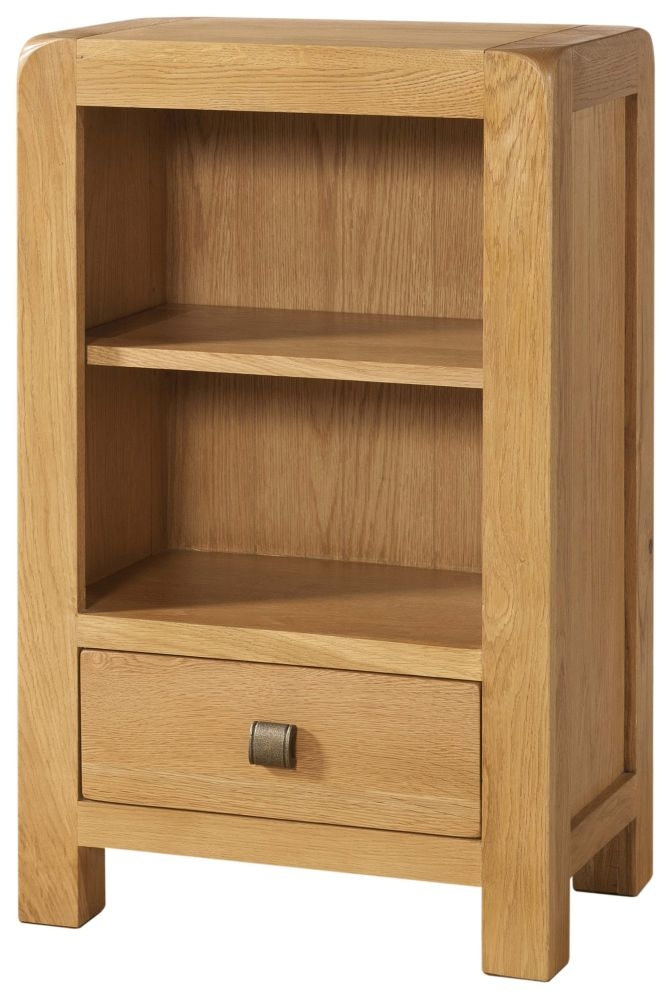 Devonshire Avon Oak 1 Drawer Bookcase