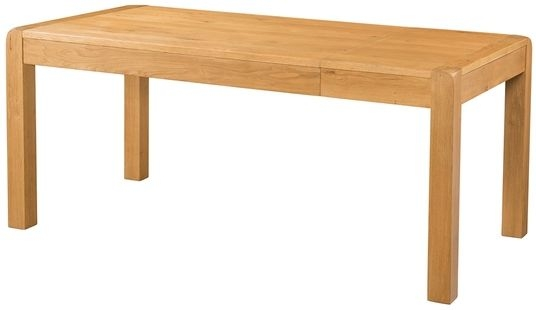 Devonshire Avon Oak Large Extending Dining Table