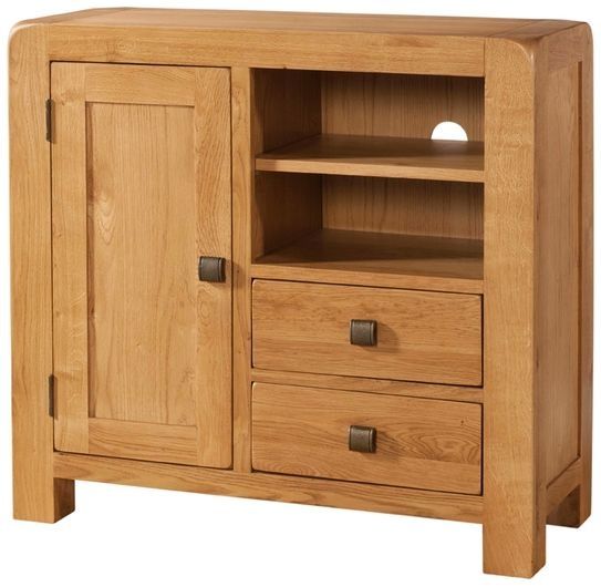 Devonshire Avon Oak Media Unit