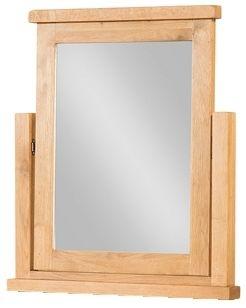 Devonshire Avon Oak Vanity Mirror