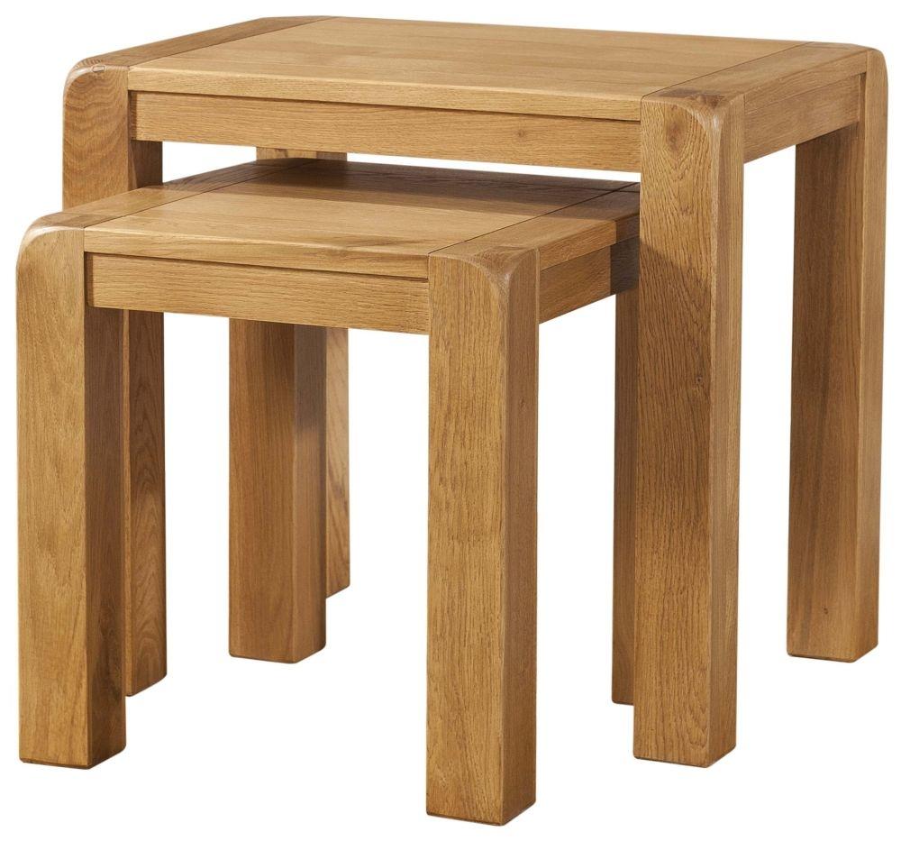 Devonshire Avon Oak Nest of Tables