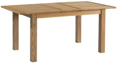 Burford Oak Large Extending Dining Table