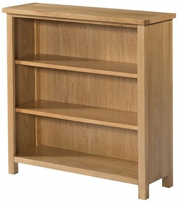 Devonshire Burford Oak Low Bookcase