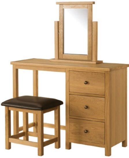 Devonshire Burford Oak Dressing Set