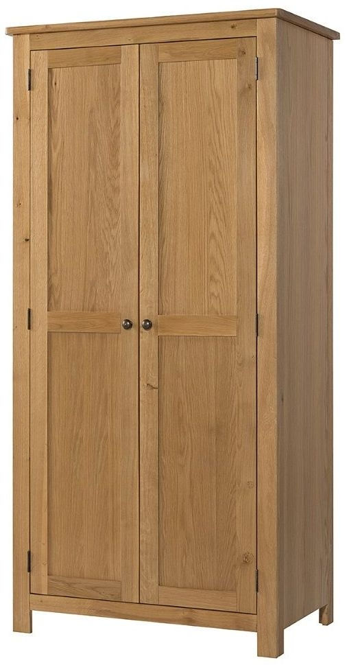 Devonshire Burford Oak 2 Door Wardrobe
