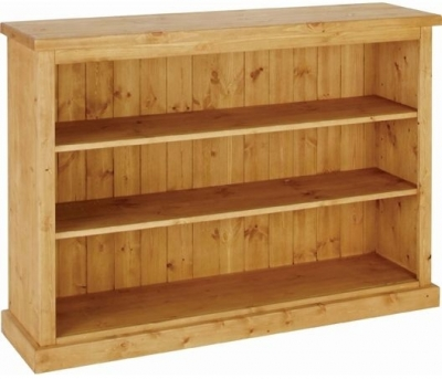 Devonshire Chunky Pine Bookcase - 3ft wide