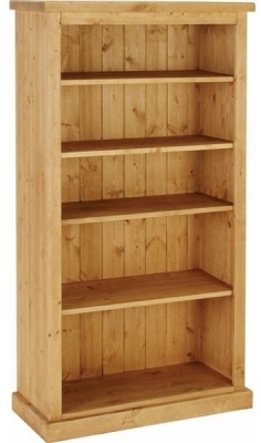 Devonshire Chunky Pine Bookcase - 5ft Tall
