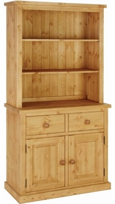 Devonshire Chunky Pine Dresser - 3ft Single