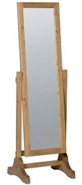 Devonshire Chunky Pine Cheval Mirror