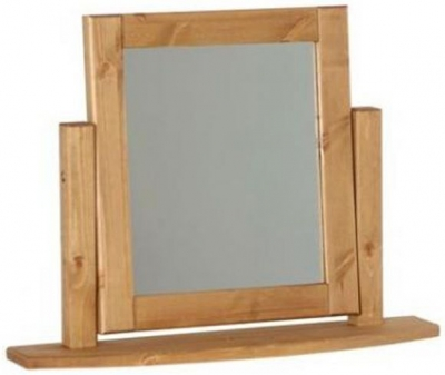 Devonshire Chunky Pine Mirror - Single