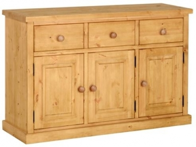 Devonshire Chunky Pine Sideboard - 3 Door 3 Drawer