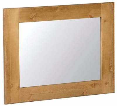 Devonshire Chunky Pine Wall Mirror - 750mm x 600mm