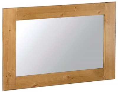 Devonshire Chunky Pine Wall Mirror - 900mm x 600mm