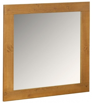 Devonshire Chunky Pine Wall Mirror - 900mm x 900mm