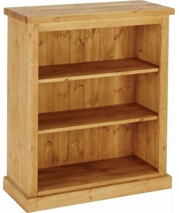 Devonshire Chunky Pine Bookcase - 3ft Tall